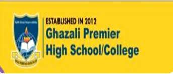 Ghazali Premier Higher  School NTS Application Form 2018