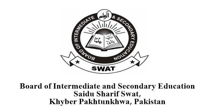 Swat Board Matric Exams Schedule 2018