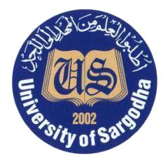 UoS BS Semester Exams Date Sheet 2019