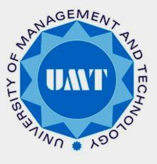 University of Management and Technology BS MS Admission 2020