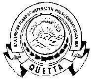 Balochistan Board Inter Entry Test 2021 Answer Keys