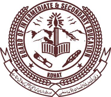 Kohat Board 10th Grade Annual Exams Result 2021