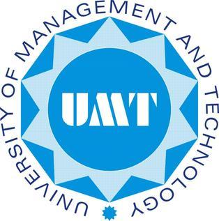 UMT BS BBA BCom LLB Admissions 2021